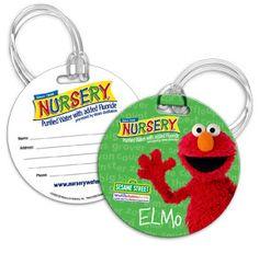 Bag Tag for Nursery Students | Baby & Kids :: Sample.net #Baby #Kids #Nursery #Students