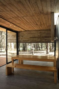 Galería de Casa Mar Azul / BAK Arquitectos - 19 Nordic Interior, Dining Bench, Architecture Design, Exterior, Room, Furniture, Home Decor, Casa De Campo, Luxury Camping