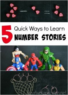 Creative Family Fun: 5 Quick Ways to Learn Number Stories
