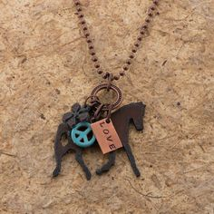 Hippie Chick Cowgirl Necklace
