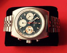 Very Rare Collectable Certina Chronolympic First Model 1968 1972 | eBay