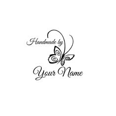 Handle Mounted Personalized custom made rubber stamps C09 scrapbook
