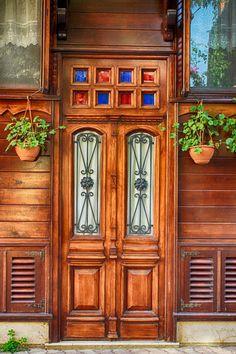 Beautiful wooden door on Heybeliada, Istanbul (Turkey) by Martin Muderack on 500px