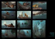 Ice Age #Concept #ColorKey #BlueSky