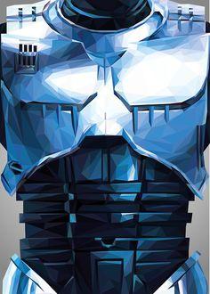 Triangles Robots Heroes - Robocop