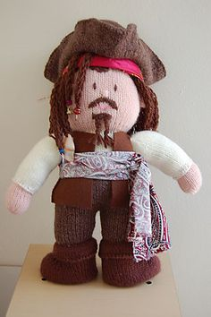 Knitted Jack Sparrow?