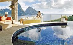 Jade Mountain Resort   Classic Vacations