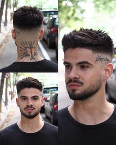 Teen Boy Haircuts, Trendy Mens Haircuts, Haircuts For Curly Hair, Boy Hairstyles, Curly Hair Styles, Men's Haircuts Fade, Mens Haircuts Straight Hair, Short Hair Hairstyle Men, Short Haircuts For Men