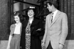 Pre-lobotomized Rosemary Kennedy. The family long maintained she was born mentally retarded, but others argue that she was not, and that her father had her lobotomized due to inappropriate behavior. Drs refused the operation, but Joseph found a willing doctor and she underwent the operation in 1941, while her mother was traveling abroad.