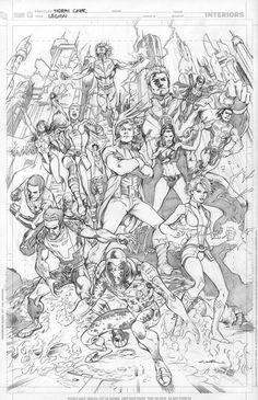 Legion of Super Heroes by Cinar