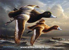 Duck Hunting art