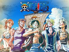 One Piece Straw Hat Crew Wallpaper Read One Piece Manga Online at MangaGrounds and join our One Piece forums today!