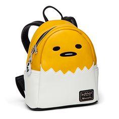 Gudetama Egg Mini Vegan Leather Backpack