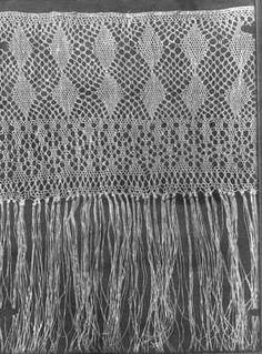 """Motiv:      Håndarbeid - """"sprang"""". Gammel type.  Historikk:      Fotografiene ble anvendt i Den Norske Husflidforenings 60 årsberetning.        Fotografiene er en del av Husflidsamlingen som ble tatt inn ved museet i 1998.      Aksesjon (Innkomst til NF.):      1998      Fotografering (Selve eksponeringsøyeblikket.):      1951      Fotograf, sikker: Den Norske Husflidsforening  Identifikasjonsnr.:      NF.25746-004  Eier:      Norsk Folkemuseum"""