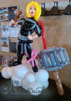 The best BALLOON centerpieces in San Antonio by Almapaints. Balloon Centerpieces, Balloon Decorations, Superhero Balloons, Best Superhero, San Antonio, Girl Dolls, Thor, Valentines Day, Birthdays