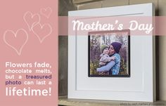 Mother's Day is right around the corner! Look no further because we have some great Mother's Day gift ideas. A ceramic tile in an Accent Frame for the night stand, a circle Cutting Board to spruce up the kitchen or a Metal print in a Float Frame for an empty wall. Visit our website to order your Mother's Day gift today! http://nwfineartprinting.com