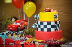 Lightning McQueen + Cars themed birthday party with Such Cute Ideas via Kara's Party Ideas Kara Allen KarasPartyIdeas.com #lightningmcqueen #carsparty #partydecor #karaspartyideas (12)