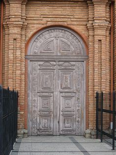 Santa Cruz, Bolivia, Baroque Cathedral Door