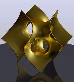 golden batwing minimal surface