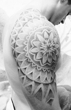 dotwork tattoo ideas (35)