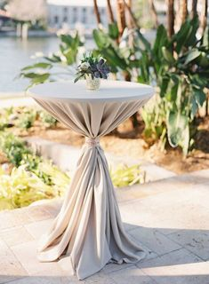 Wedding reception cocktail table decor ideas 11