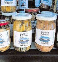 SPECIALITÀ. Pesce Azzurro Sott'olio di Lampedusa