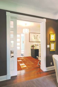 Pocket doors slide into modern times
