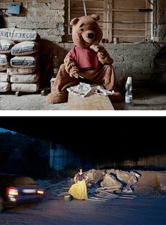 Famous Characters in Real Life by Benjamin Béchet | Inspiration Grid | Design Inspiration
