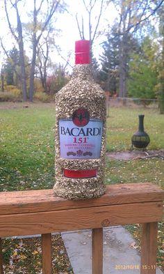 Bacardi Bottle #151 Liquor Bottle Pinata by PinataVille on Etsy, $99.00