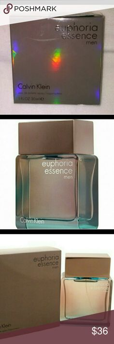 🆕⭐CK Euphoria Essence Men's Cologne SAVE$ CK Euphoria Essence Men's Cologne ✓ Brand New ✓ Factory Sealed ✓ 1.0 Fl Oz (30 ml) ✓ Save over 20% / Retails @ $42°°  ** Should ship within 12-24 hours of purchase!!! Calvin Klein Other