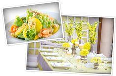 Cobb Salad, Wedding Venues, Reception, Weddings, Table Decorations, Awesome, Food, Home Decor, Wedding Reception Venues