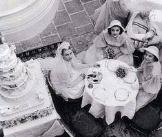 Grace Kelly: A Monaco Royal Wedding — Kisses & Cake Princess Grace Wedding Dress, Grace Kelly Wedding, Princess Grace Kelly, Princess Caroline Of Monaco, Royal Brides, Royal Weddings, Images Of Princess, Prince Of Monaco, Kelly Monaco