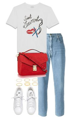 """Untitled #4036"" by theeuropeancloset on Polyvore featuring Moschino and Yves Saint Laurent"