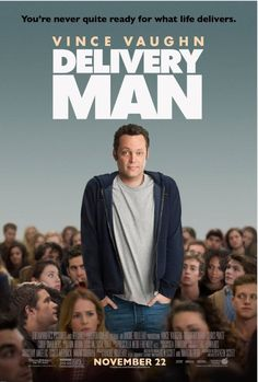 Watch Delivery Man full hd online Directed by Ken Scott. With Vince Vaughn, Chris Pratt, Cobie Smulders, Jack Reynor. An affable underachiever finds out he's fathered 533 children through ano Vince Vaughn, Chris Pratt, Man Movies, Comedy Movies, Good Movies, Awesome Movies, Cinema Movies, Movie Film, Movies 2014