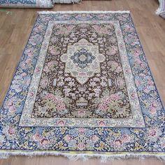 #art #chineseroundsilkrugs #ghomsilkrug #100%silkrugsforsale #roundrug #roundcarpet