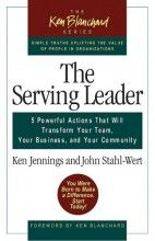 Item#472294 Price:$15.96 Paperback This compelling narrative that combines a very human story with the classical Greenleaf theory of servant leadership. The second book in the acclaimed Ken Blanchard series is both a practical guide for effective leadership and a book about the personal journey of growth that real leadership requires. http://www.newtestamentlife.com/item/ken-blanchard-ken-jennings/the-serving-leader-five-powerful-actions-that-will/472294.html