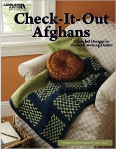 Leisure Arts - Check-It-Out Afghans eBook, $7.99 (http://www.leisurearts.com/products/check-it-out-afghans-ebook.html)