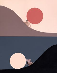 Peaceful, Powerful Ladies Populate These Mystical Illustrations is part of drawings - Laura Berger spends her time painting a calming, ladycentric world Laura Berger, Time Painting, Gouache Painting, Grafik Design, Art Inspo, Vector Art, Pop Art, Art Photography, Abstract Art