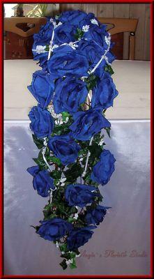 anita wasserfall blau weiß hochzeit mehr hochzeit blau weiss ...