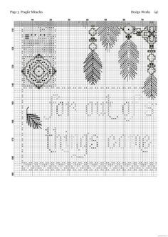 Borduurpatroon Kruissteek Dromenvanger *Embroidery Cross Stitch Pattern Dreamcatcher ~Afbeelding Fragile Miracles 4/6~