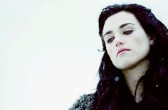 A common misconception is that Morgana has the same motivation as Magneto from the X-Men. She actually doesn't. She's not trying to kill all non-magic folk: she's trying to liberate the people who do have magic. (gif set) --description by Frodo the Second