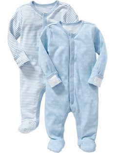 Old Navy Patterned One-Piece 2-Packs for Baby 3 - 6 months (12 - 17 lbs)