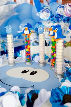 club penguin birthday party | Disney's Club Penguin Themed Birthday Party - Kara's Party Ideas - The ...