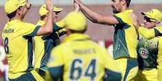 Australia Seal Their Place in Final Of Triangular Series