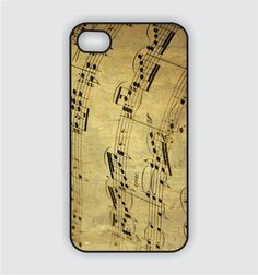 iPhone 4 Case  Vintage Sheet Music i1007 by CreateItYourWay, $17.99