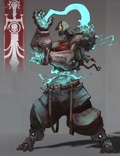 ArtStation - Character Design Challenge Beyond Human - Heroes, Hue Teo