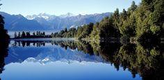 Visit one of the most beautiful lakes in the world - Lake Matheson Walk, New Zealand. Lake Wanaka, Mirror Lake, The Great Outdoors, New Zealand, River, Mountains, Landscape, World, Nature