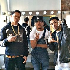Lil Bibby,Chance the Rapper, and Vic Mensa