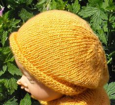 Looking for your next project? You're going to love Baby Silk Roll Brim  Slouch Hat  by designer madmonkeyknits. - via @Craftsy