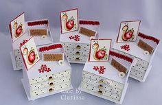 Schnipsel und mehr: Erdbeer Kommoden http://schnipselundmehr.blogspot.de/2013/07/erdbeer-kommoden.html Julias Kindergeburtstag 2013